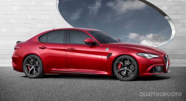 Nuova Alfa Romeo Giulia Le prime foto ufficiali della Quadrifoglio [video]