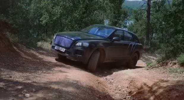 Bentley Bentayga Prime immagini della nuova Suv in azione [video]