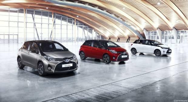Toyota Yaris Piccoli aggiornamenti per la gamma a Francoforte 2015