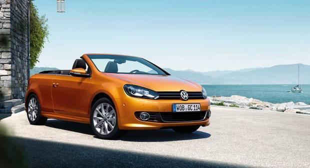 Volkswagen Golf Cabriolet Piccoli aggiornamenti in vista di Francoforte