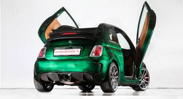 Romeo Ferraris Una piccola cabrio da 248 CV