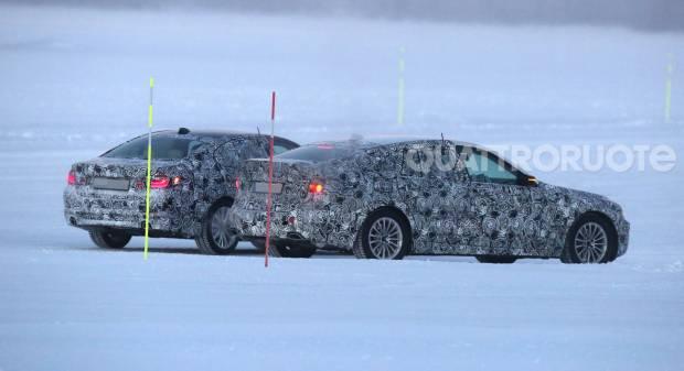 BMW Serie 5 Test invernali per berlina e GT