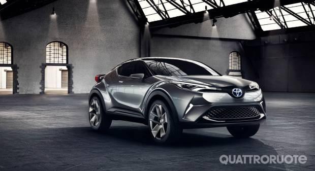 Toyota La nuova B-Suv sarà prodotta in Turchia