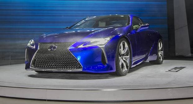 Lexus A Ginevra la LC 500H e la fuel cell LF-LC