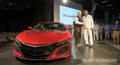 Acura La prima NSX esce dalle linee di produzione in Ohio