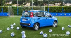 Fiat Pandazzurri Un allestimento speciale dedicato alla nazionale