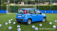 Fiat Pandazzurri Allestimento speciale dedicato alla nazionale
