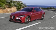 Alfa Romeo Giulia Arriva la Quadrifoglio automatica