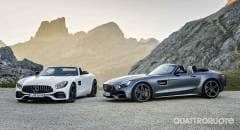 Mercedes AMG Ecco le nuove roadster GT e GT C
