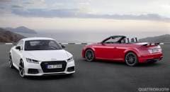 Audi TT Dal 2017 anche in versione S Line Competition