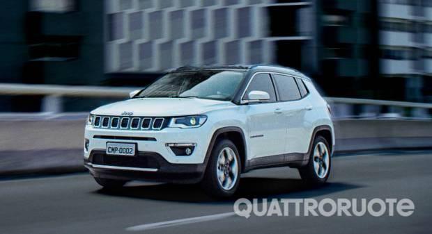 Nuova Jeep Compass Anteprima mondiale in Brasile