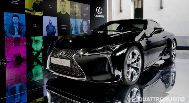 Lexus LC 500h Protagonista ai Brera Design Days di Milano