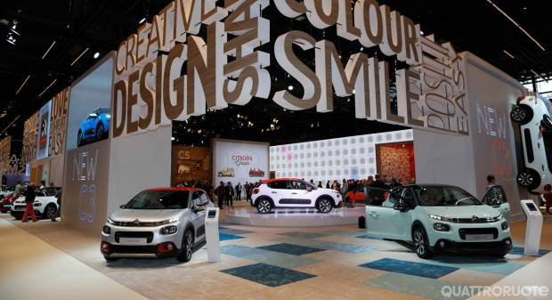 La nuova C3 protagonista allo stand Citroën - VIDEO