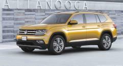 Volkswagen Atlas Al debutto la nuova Suv a sette posti per gli Usa