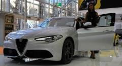Motor Show 2016 Alfa Romeo, dalla Giulia Veloce alla 4C Spider - VIDEO