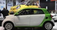 Motor Show 2016 Debutto italiano per la Smart forfour elettrica