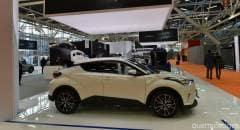 Motor Show 2016 La Toyota C-HR regina dello stand