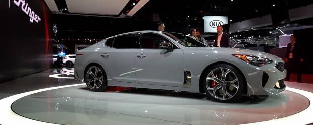 Kia a Detroit 2017 Si chiama Stinger la nuova GT coreana - VIDEO