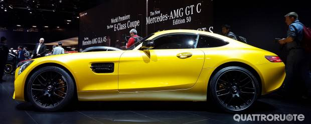 Mercedes-AMG GT A Detroit GT C Coupé ed Edition 50 - VIDEO