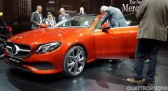 Mercedes-Benz A Detroit svelata la Classe E Coupé - VIDEO