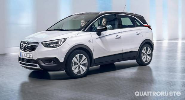 Opel Crossland X Compatta, spaziosa e versatile - VIDEO