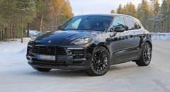Porsche Macan Primi test su strada per il restyling