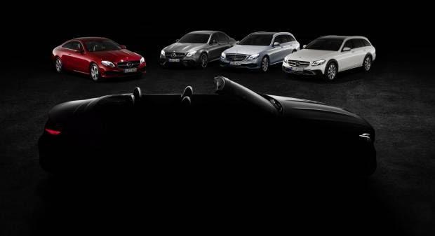 Mercedes-Benz<br>  La Classe E Cabrio e le altre novità per Ginevra