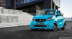Smart A Ginevra con la Brabus Ultimate 125