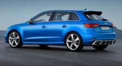 Audi RS3 In Germania prezzi da 54.600 euro