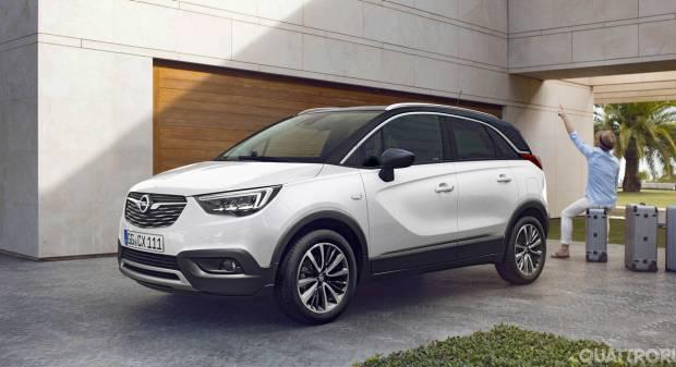 Opel Crossland X In Italia listino prezzi da 16.900 euro