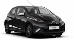 Toyota Aygo A listino la variante x-black e il pacchetto Safety Sense