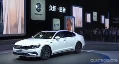 Volkswagen Phideon La berlina per la Cina diventa ibrida plug-in