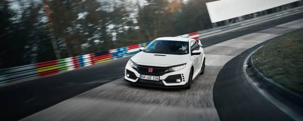 Honda Civic Type R Nuovo record al Nürburgring - VIDEO