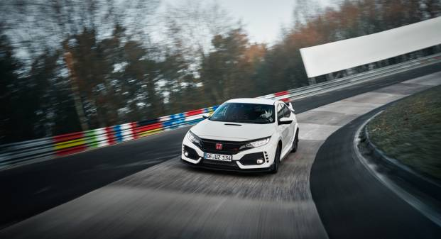 Honda Civic Type R Nuovo record al Nürburgring - VIDEO