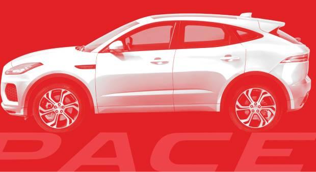 Jaguar E-Pace Diffuse le prime immagini della crossover sportiva