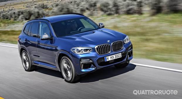 BMW X3 La nuova generazione in Italia a partire da 49.900 euro