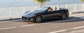 Maserati Al volante di GranCabrio e GranTurismo - VIDEO