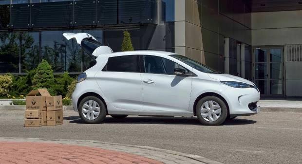 Renault Zoe Van L'elettrica per uso commerciale