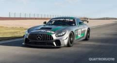Mercedes-AMG GT4 Esordio in pista per la sportiva tedesca