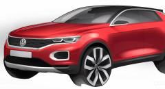 Volkswagen T-Roc Nuovo bozzetto della Suv compatta