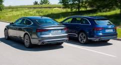 Audi A4 Avant e A5 Sportback g-tron Germania, i prezzi delle medie a metano