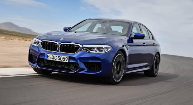 BMW M5 La prima volta della trazione integrale