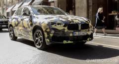 BMW X2 Il prototipo camuffato alla Milano Fashion Week