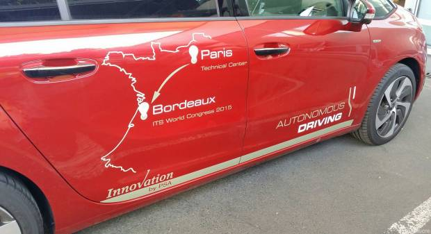 Da Parigi a Bordeaux, 580 km in guida autonoma