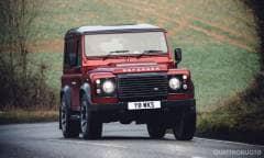 400 CV per i 70 anni della Land Rover