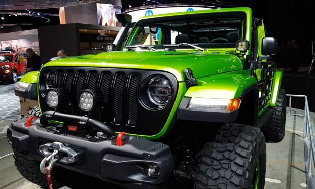 Salone di Detroit 2018 Jeep Wrangler Rubicon by Mopar - VIDEO