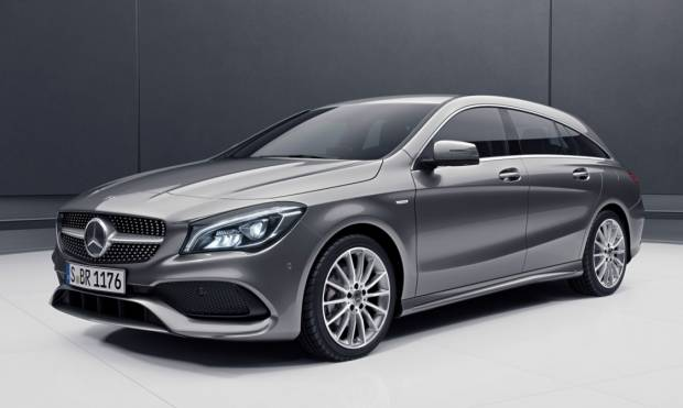 Mercedes-Benz CLA Nuova Night Edition per la Shooting Brake