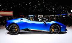 Debutta la Huracán Performante Spyder - VIDEO