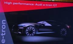 Nel 2020 la e-tron GT, la prima sportiva elettrica