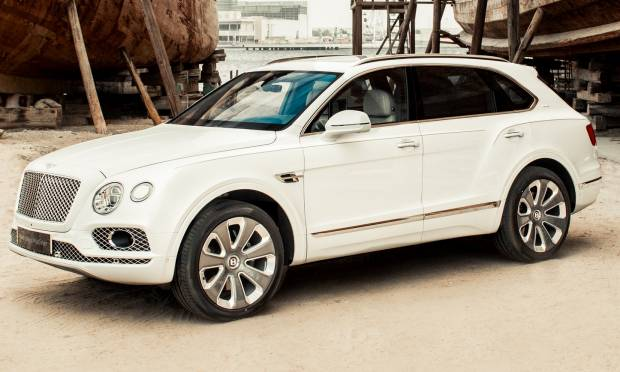 Da Mulliner la Bentayga Pearl of the Gulf
